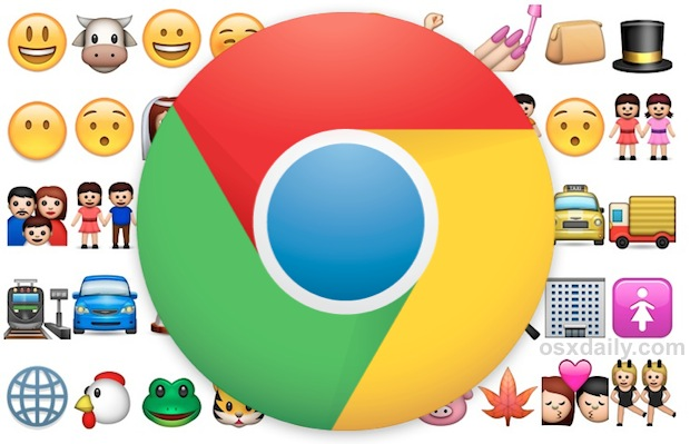 emoji-in-chrome